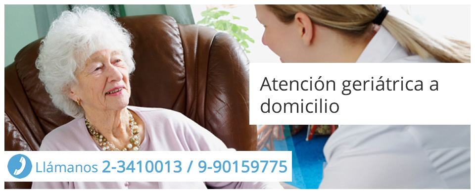Atención geriátrica a domicilio