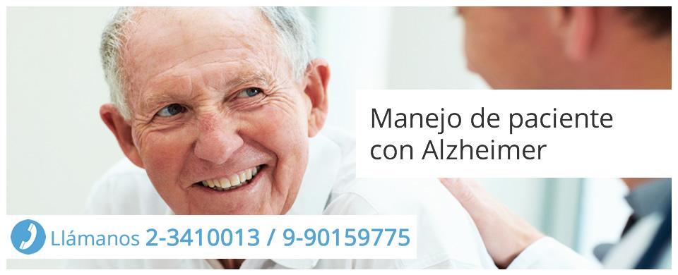 Manejo de paciente con Alzheimer